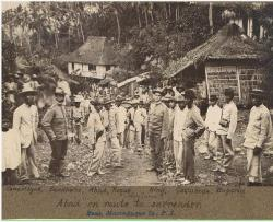 April 17, 1901: Abad surrenders in Marinduque. In photo above, Colonel Maximo Abad, chief of Filipino forces in the island province of Marinduque, is being accompanied to Boac by Colonel Harry Hill Bandholtz of the Philippine Constabulary. Source: philippineamericanwar.webs.com